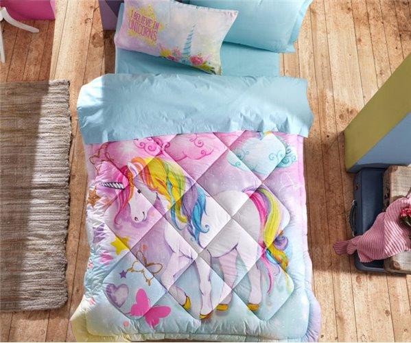 Детский КПБ с Одеялом Ranforce JUNIOR Uyku Seti - cotton box