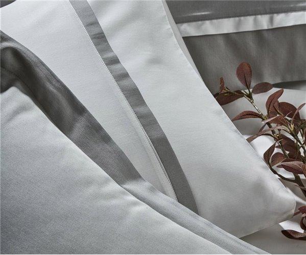Комплект Постельного Белья из Сатина ЕВРО 2-x сп. - EcoCotton