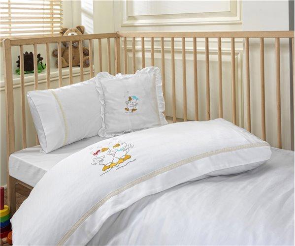 Бамбуковое постельное белье для новорожденных Happy Duck Nevresim - EcoCotton