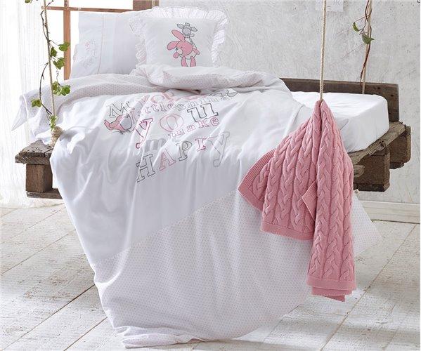 Бамбуковое постельное белье для новорожденных  - EcoCotton