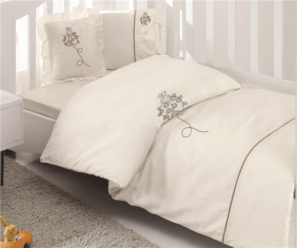 Бамбуковое постельное белье для новорожденных Lady Bugs Nevresim - EcoCotton