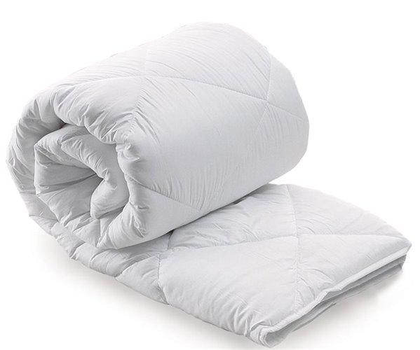 195x215 см Одеяла Микрофибра Microfiber Yorgan Beyaz Çift- Altınbaşak