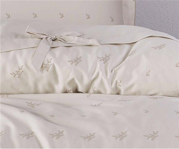 2 сп. Евро Комплект Постельного Белья Сатин Cotton Saten İmge XL - EcoCotton