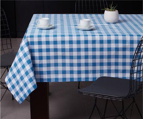 Скатерть 160x160 см Masa Örtüsü 160x160Cm Kareli Mavi