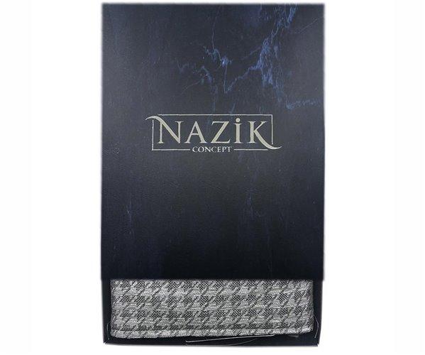 Хлопковое Полотенце с Вышивкой 90x150 см 1 шт/уп. Genova Gri - Royal Nazik