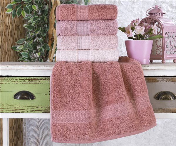 Махровые Лицевые Полотенца 50x90 см 4 шт/уп Style Pudra - Ephemeris