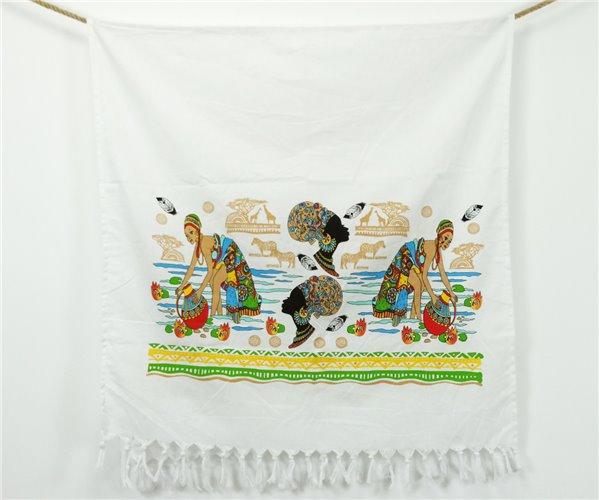 Пештемаль с Бахромой 80x160 см Baskılı Peştamal - Otantik - Ephemeris