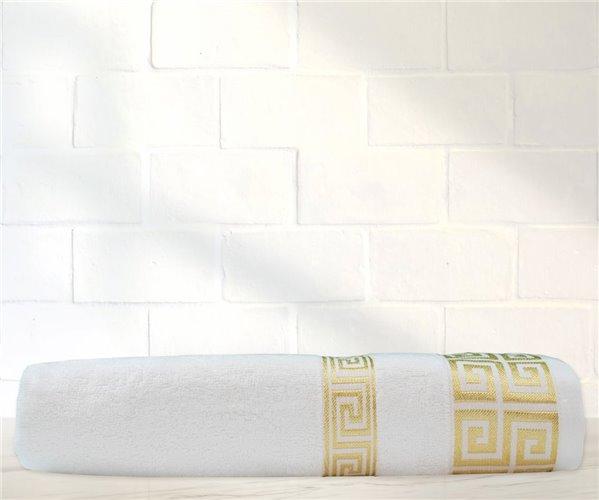 Бамбуковое  Банное Полотенце 70x140 см 1 шт/уп Greek Bambu Beyaz - Ephemeris