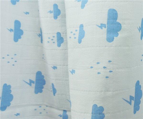 Муслиновая Пеленка 100x130 см из Хлопка Bulut Müslin - Ephemeris
