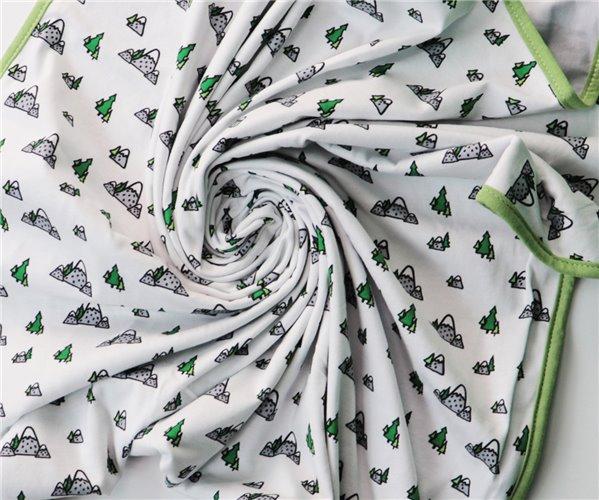 Одеялко для Новорожденных 80x80 см из Хлопка Penye Bebek Battaniyesi - Dağ - Ephemeris