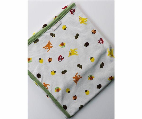 Одеялко для Новорожденных 80x80 см из Хлопка Penye Bebek Battaniyesi - Animals - Ephemeris