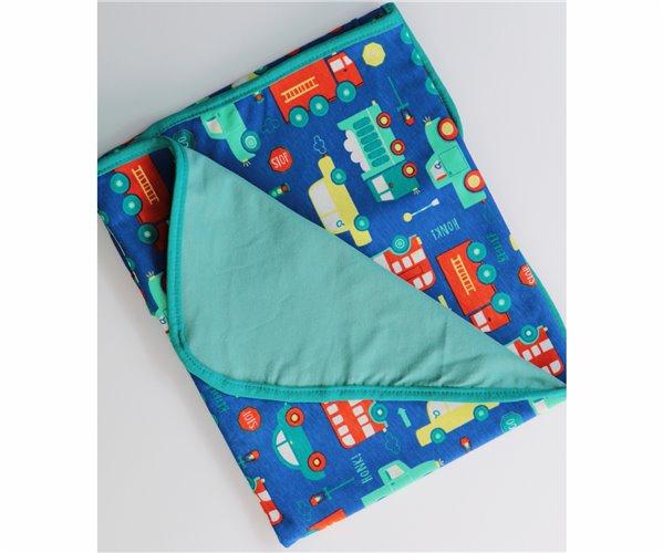 Одеялко для Новорожденных 80x80 см из Хлопка Penye Bebek Battaniyesi - Araba - Ephemeris