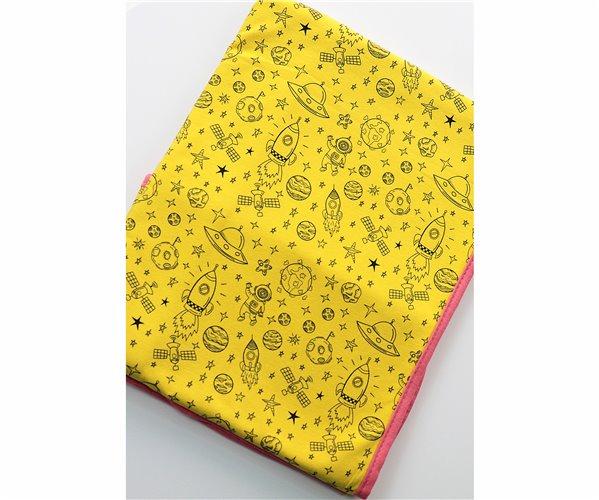 Одеялко для Новорожденных 80x80 см из Хлопка Penye Bebek Battaniyesi - Galaxy - Ephemeris