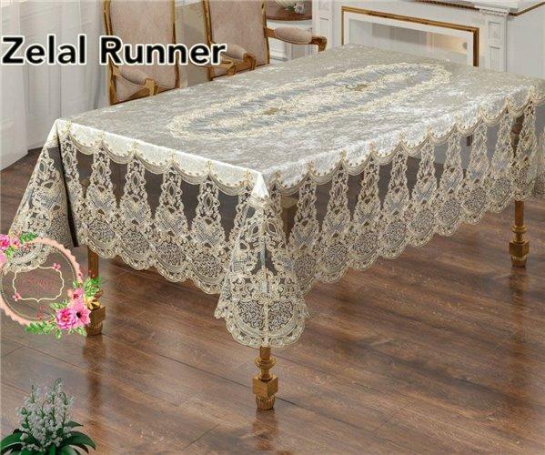 Скатерть Zelal Runner 160x220 см Villur Masa Ortusu - Zelal