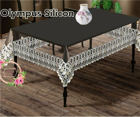 Скатерть Olympus Silicon 140x180 см Silicon Sifat - Zelal