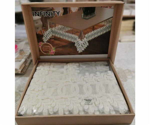 Скатерть İnfiniti 175x300 см Silicon Sifat - Zelal