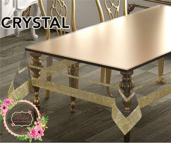 Скатерть Crystal 160x400 см Silicon Sifat - Zelal