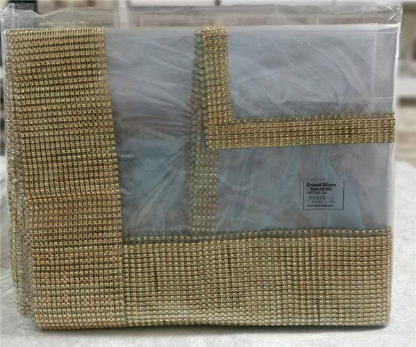 Скатерть Crystal 160x350 см Silicon Sifat - Zelal