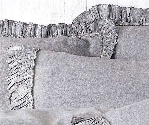 2 сп. Евро Комплект Постельного Белья Cotton Saten Ayliz Krem XL - EcoCotton