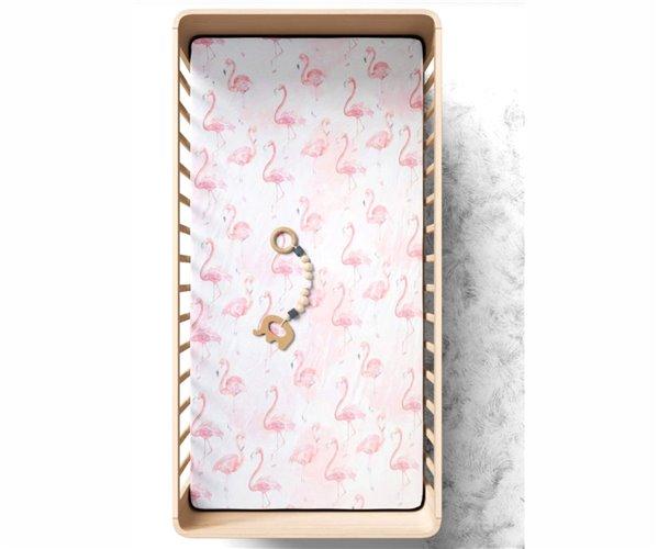 Простынь на Резинке 70x140 см из Хлопка Flamingo Bebek Çarşaf - Ephemeris