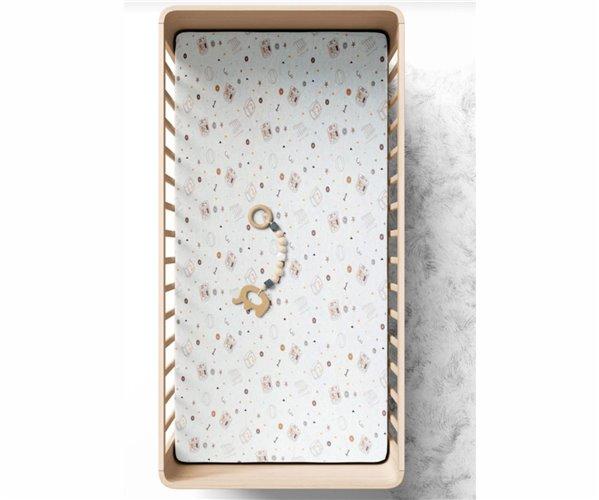 Простынь на Резинке 70x140 см из Хлопка Küp Bebek Çarşaf - Ephemeris
