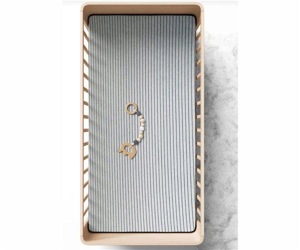 Простынь на Резинке 70x140 см из Хлопка Çizgi Siyah Bebek Çarşaf - Ephemeris