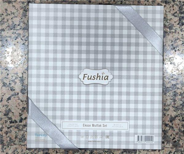 40x60 см 2 шт/уп Набор Полотенец Fushia Sarı - ByTem
