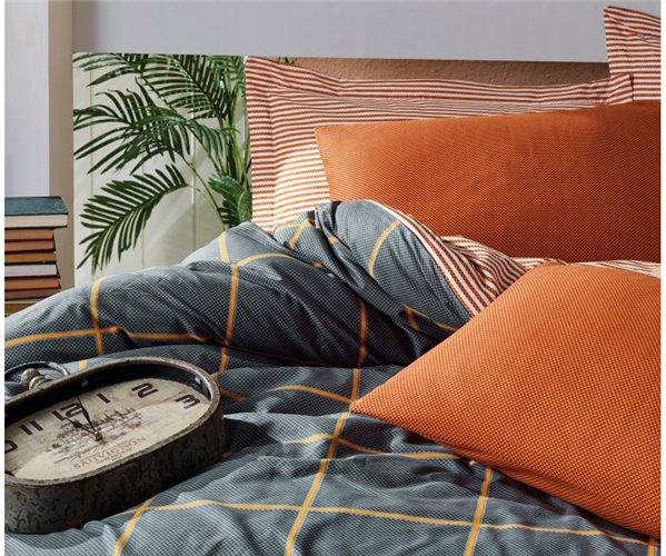 2 сп. Евро Комплект Постельного Белья Ранфорс Modern Ranforce cotton box