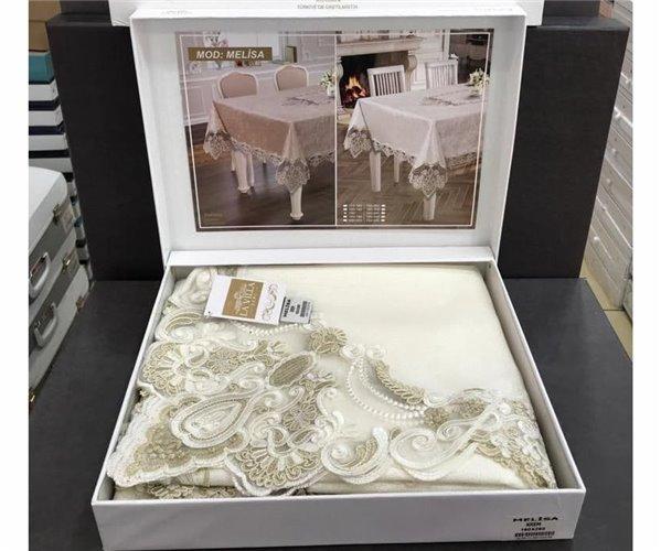 Скатерть Жаккардовая 160x260 см Linen Rose - LA VİLLA