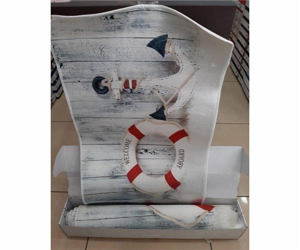 3D Набор Ковриков 3 шт/уп 60x100 см 2 шт + 80x140 см 1 шт Kadife Paspas Takımı