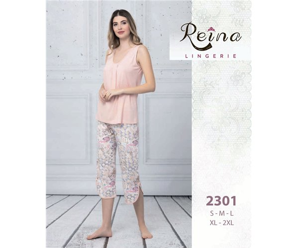 Набор 2-ка Пижама (M+L+XL+2XL+3XL) Reina