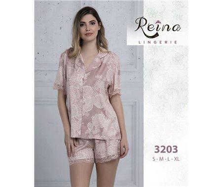 Набор 2-ка Пижама с Шортами (S+M+L+XL) Reina