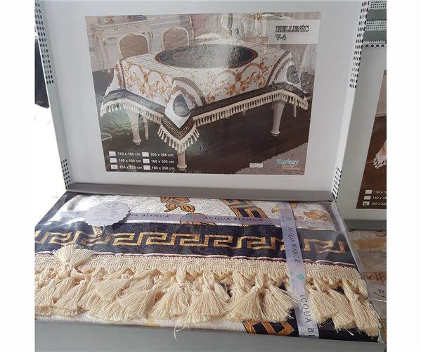Скатерть Велюровая Бархатная 160x220 см ACQUA BIANCA - TTeks