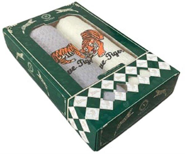 Полотенца вафельные с вышивкой 40x60 см 2 шт/уп 2 PCS LUX PRİNTED CHRİTSMAS - Nilteks
