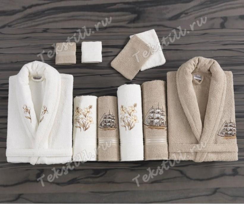 Набор Махровый с Вышивками Classic GOLD - Belinda