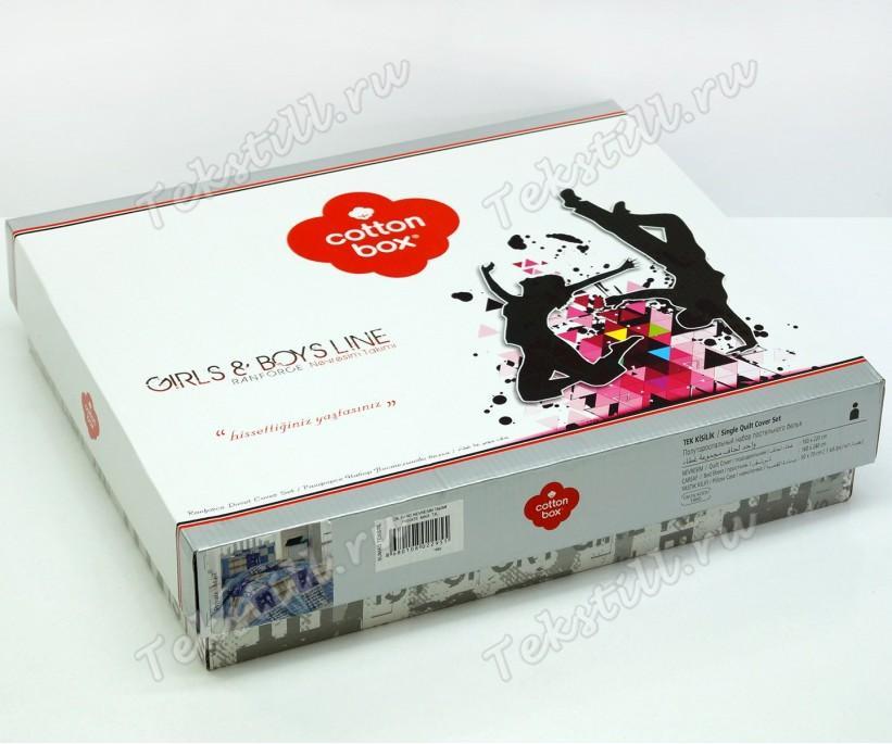 Подростковое Постельное Белье Ранфорс Genc Urban - cotton box