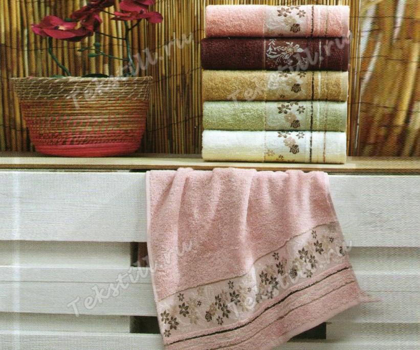Махровые Банные Полотенца 70x140 см. 6 шт/уп. Gonca Cotton - Sikel