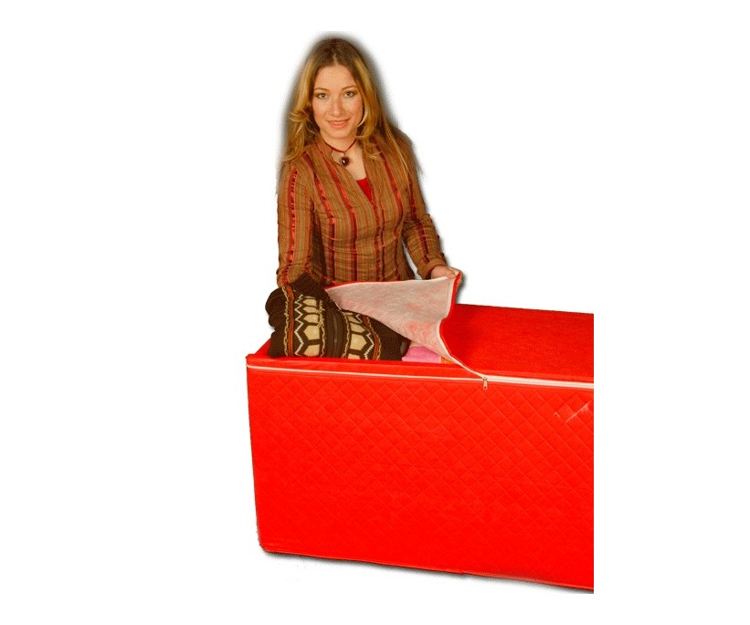 Сундуки на молнии для хранения вещей (без каркаса) MEGA Plus - 112x53x51 см.