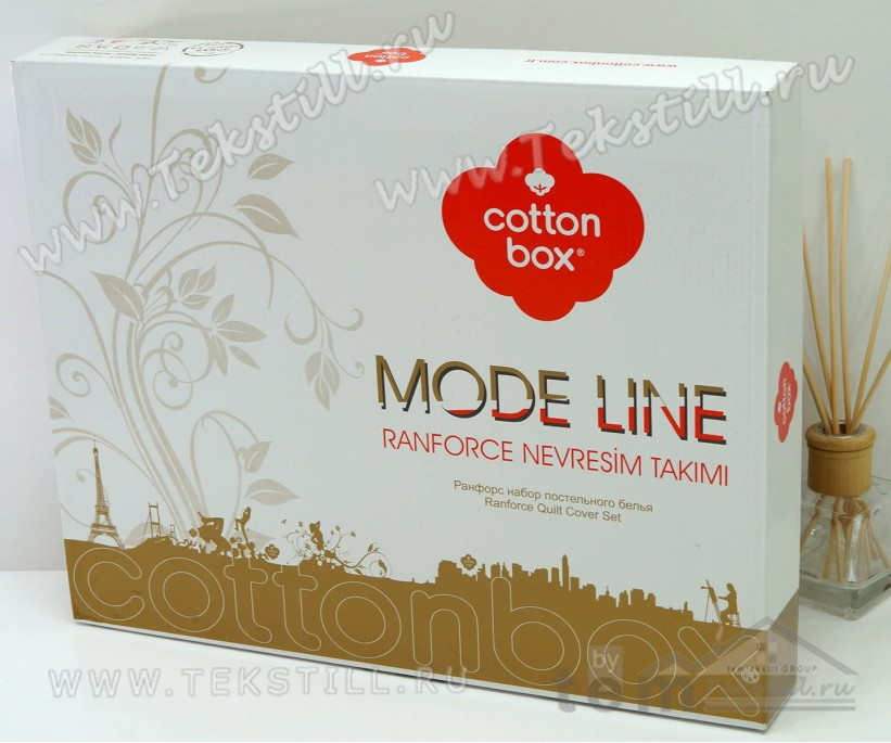 Комплект Постельного Белья Евро 2 сп. Ранфорс Maritime Arma - cotton box