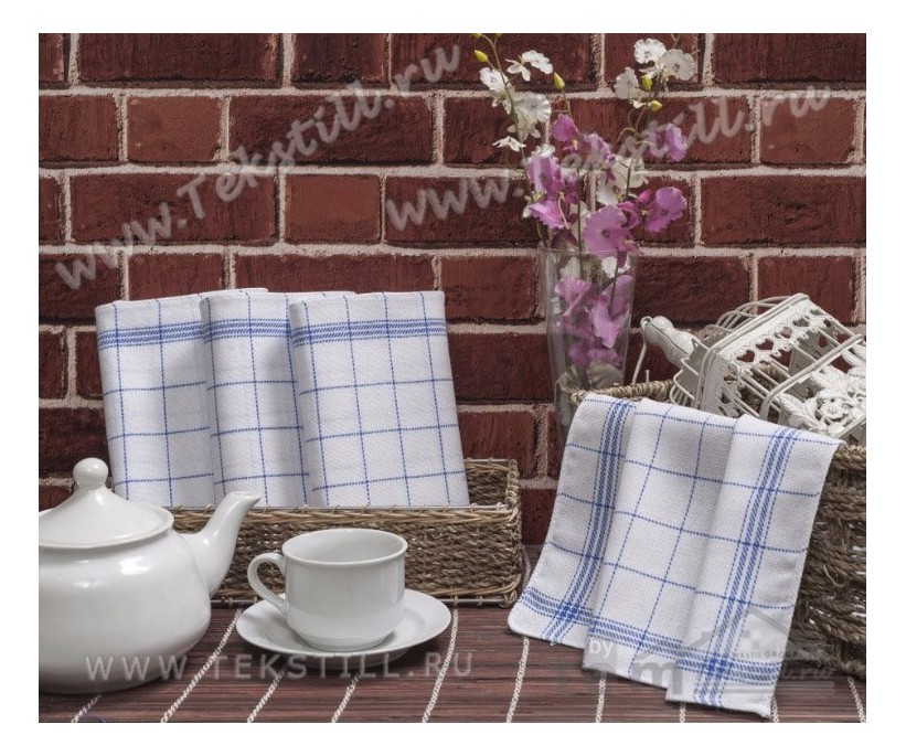 Льняные Кухонные Полотенце 45x45 см. 12 шт./уп. 100 % Хлопок IPEK DIMILI - GOZDE