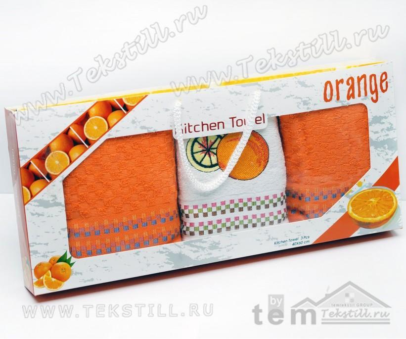 Махровые Кухонные Полотенца с Вышивкой 40x60 см. 3 шт./уп. - DNZ