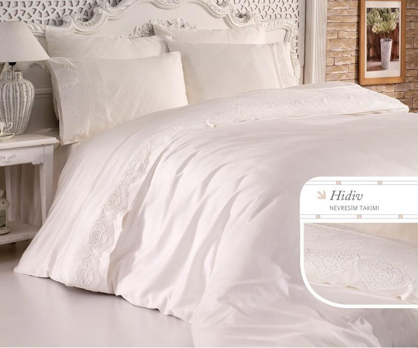 Комплект Постельного Белья с Вышивками Hidiv - Royal Nazik