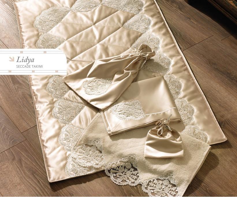 Набор для Намаза Люкс (5 предметов) Lidya Seccade Takimi - Royal Nazik
