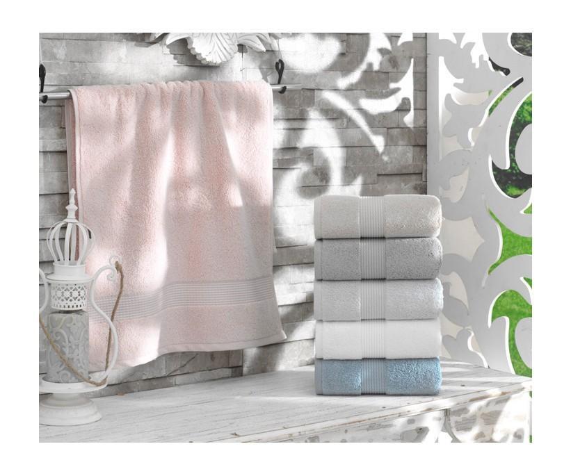 Махровые Лицевые Полотенца с Вышивкой 50x90 см 6 шт/уп - Dantela Vita