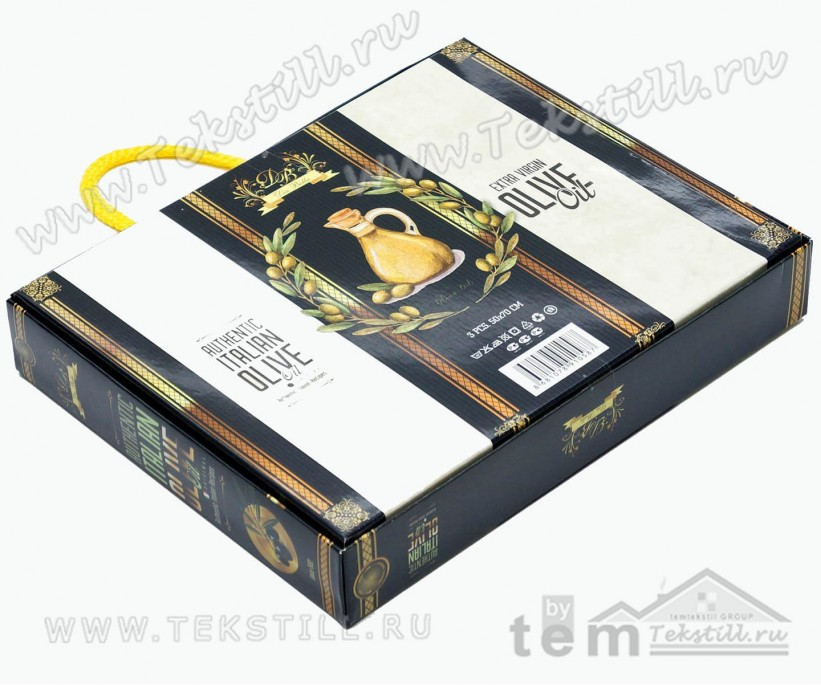 Набор Вафельных Полотенец 50x70 см 3 шт/уп - Dia Bella