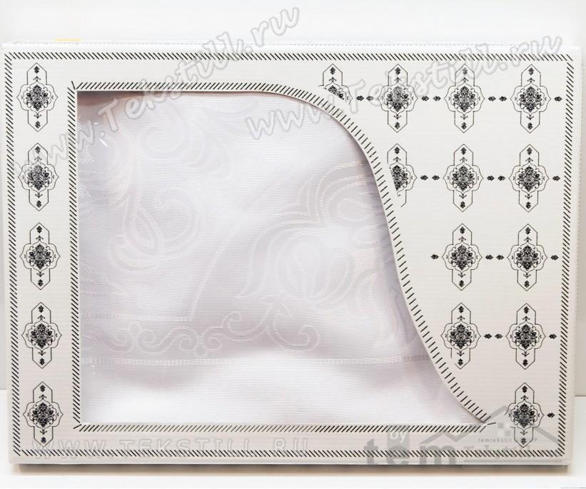 Скатерть в Подарочной Коробке 160x220 см - Zelal