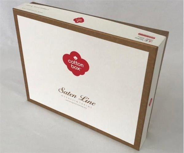 Комплект Постельного Белья Евро 2 сп. Сатин Royal Saten  - cotton box