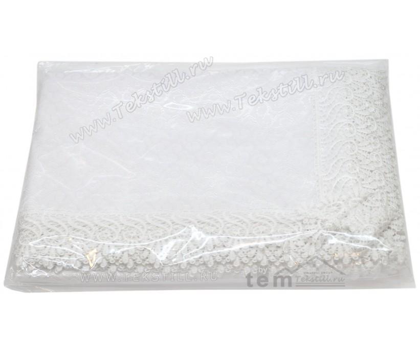 Скатерть КДК с Гипюром Без Коробки 160x220 см KDK - Zelal