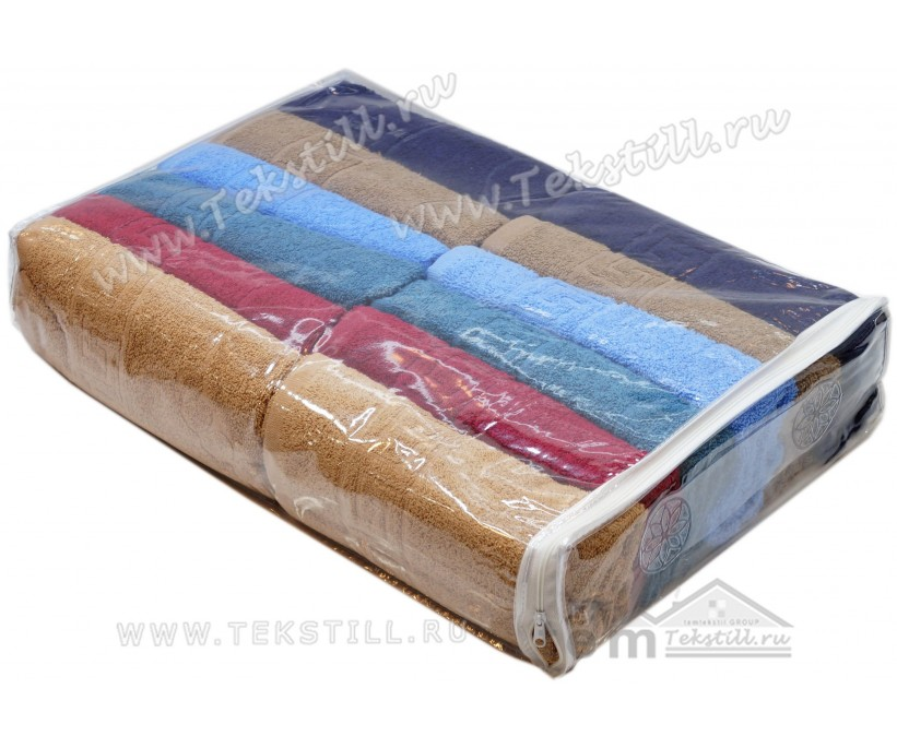 Махровое Полотенце для Ног 50x70 см. 12 шт/уп. - DNZ Gulcan