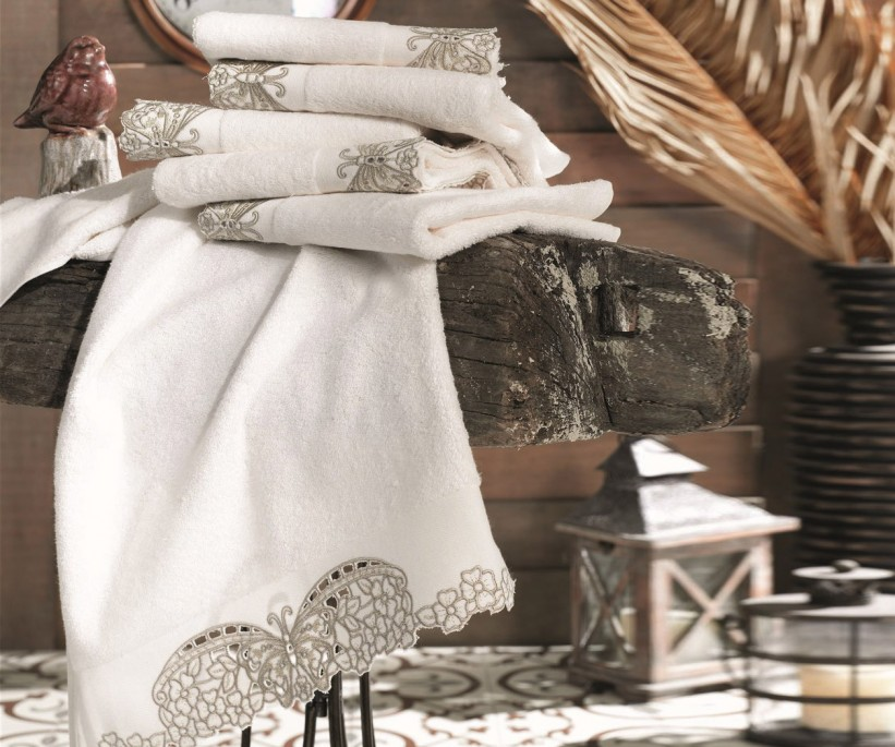 Бамбуковые Лицевые Полотенца 50x90 см. 6 шт/уп. Dantela Vita